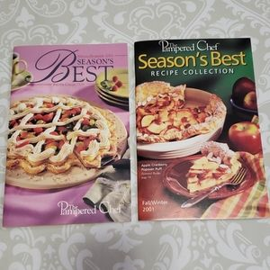 The Pampered Chef collection cookbooks